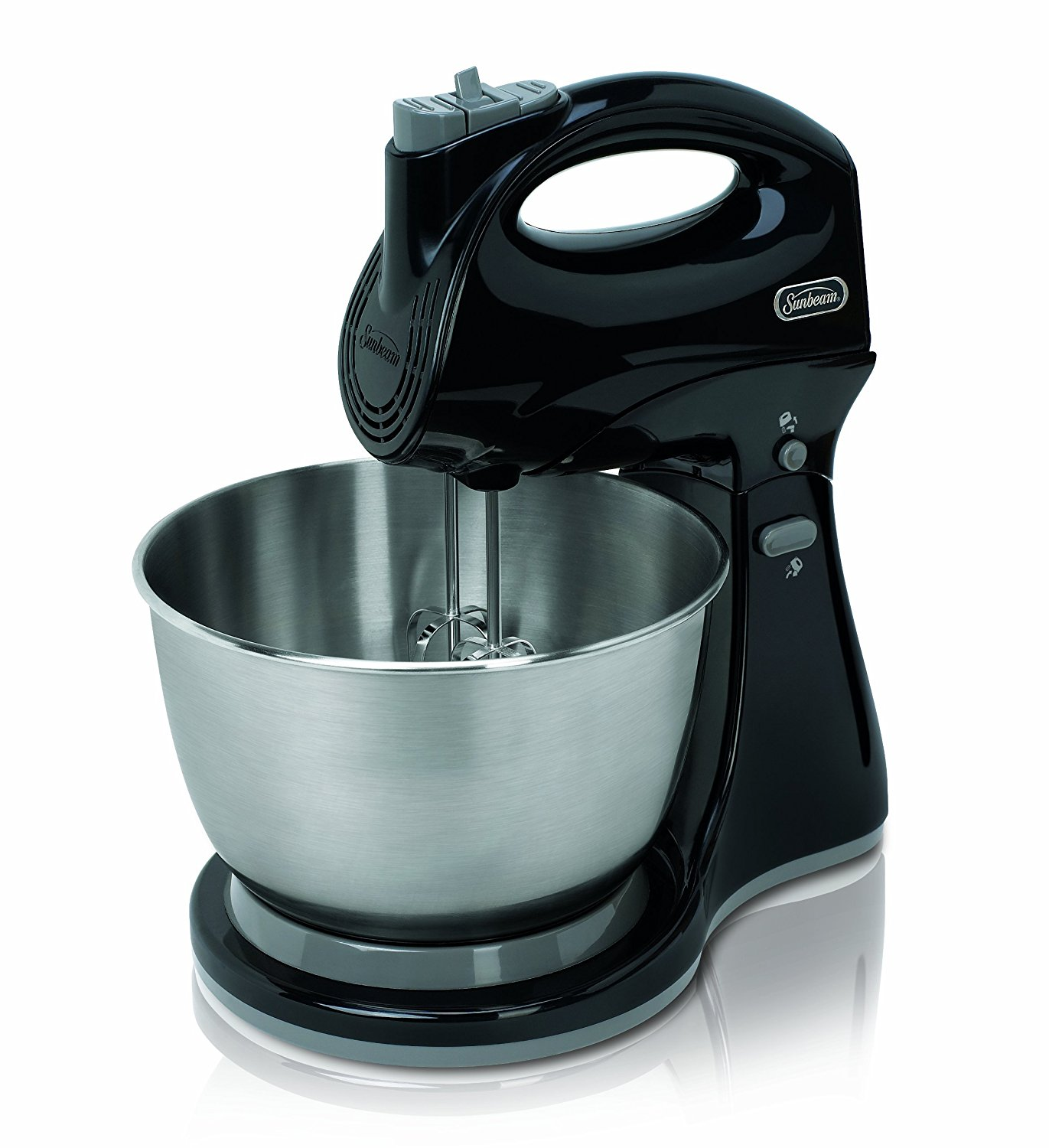 Sunbeam 5-Speed Hand & Stand Cake Egg Food Mixer Beater Stainless ...