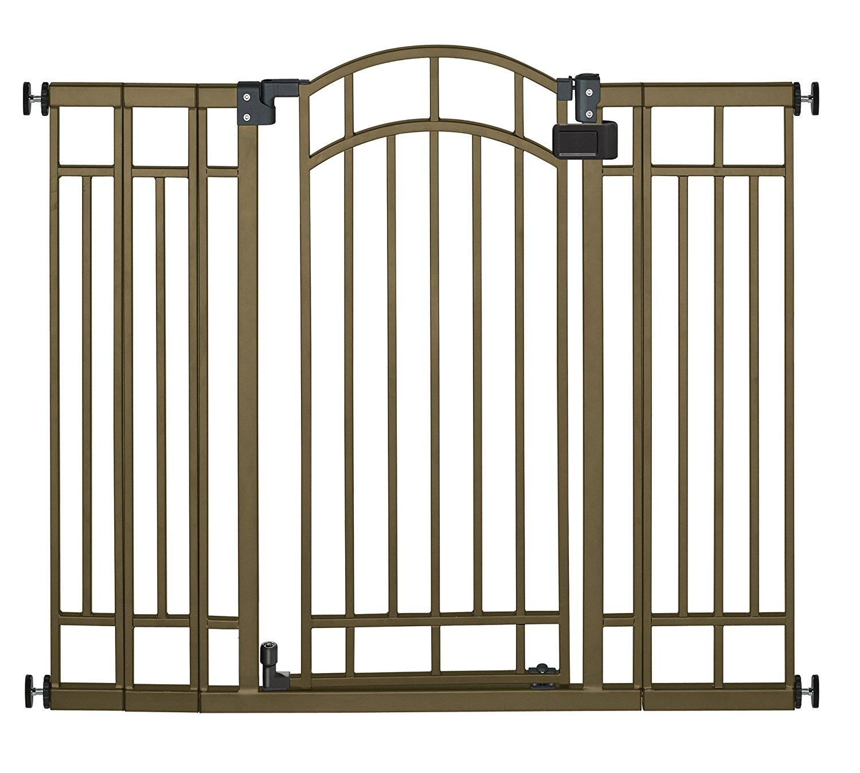 New Summer Infant Multi Use Deco Extra Tall Walk Thru Gate Bronze Ebay