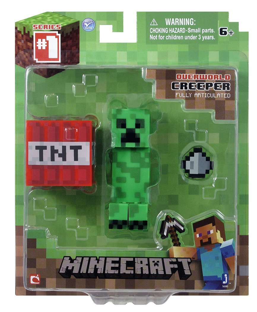 Minecraft Core Enderman Action Figure with Accessory New
