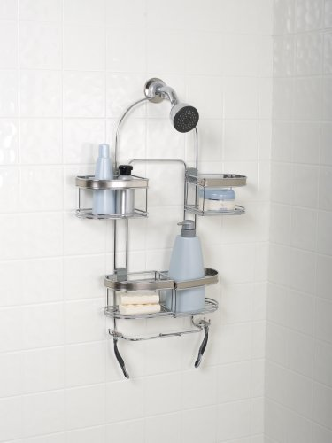 Zenith Products E7546stbb Premium Expandable Shower Caddy For Hand