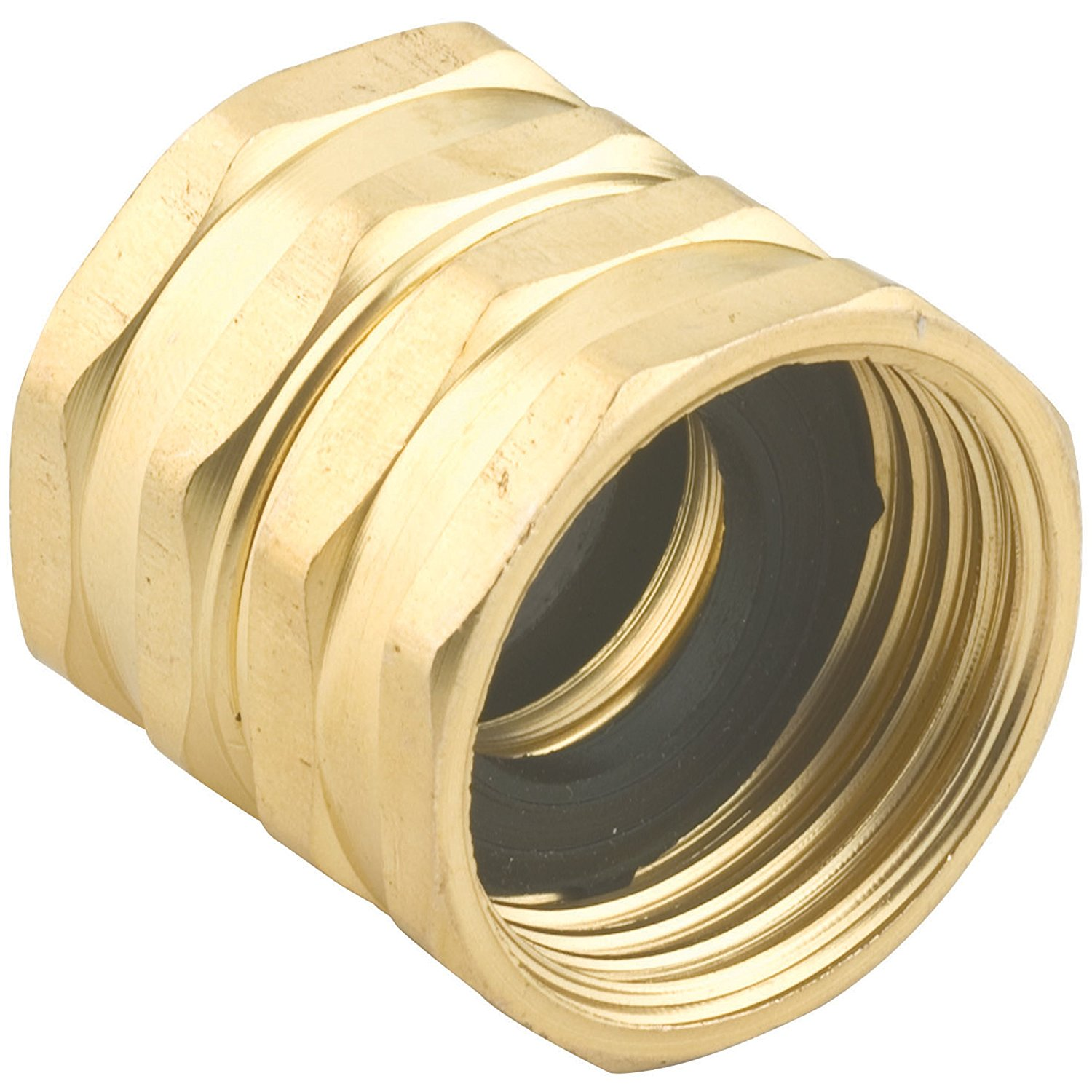 Gilmour 7fhs7fh Double Female Swivel Brass Connector 3 4 Inch By 3