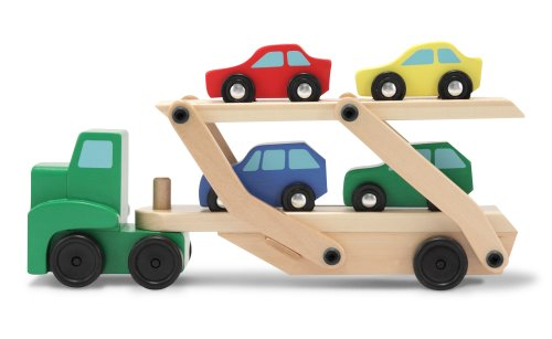 Details About Melissa And Doug Car Carrier New Free Shipping
