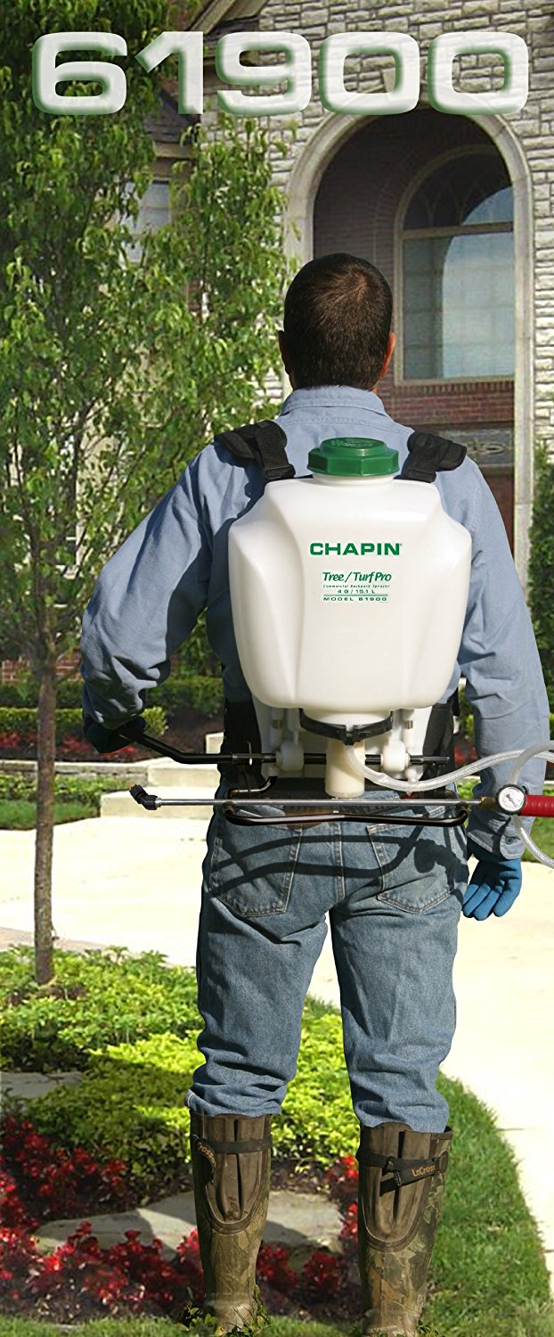 Details about Chapin 61900 Tree/Turf Pro Commercial Backpack Sprayer SS  Wand, 4-Gallon , New,