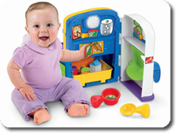 Details about Fisher-Price Laugh and Learn Learning Kitchen , New, Free  Shipping