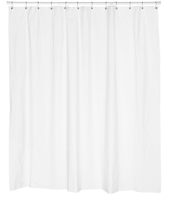 Carnation Home Fashions 10 Gauge Anti Mildew Shower Curtain Liner