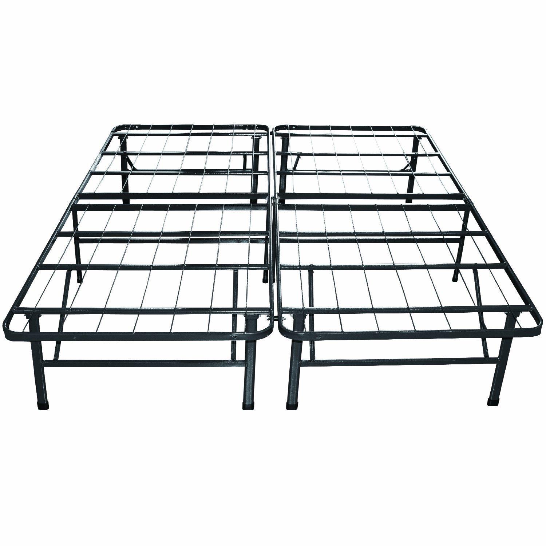 Classic Brands Hercules Platform Heavy Duty Metal Bed Frame/Mattress ...