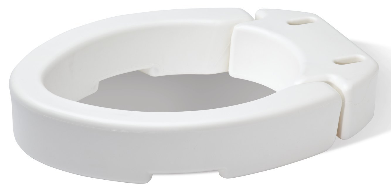 Wondrous Details About Carex Health Brands Elongated Hinged Toilet Seat Riser New Free Shipping Onthecornerstone Fun Painted Chair Ideas Images Onthecornerstoneorg