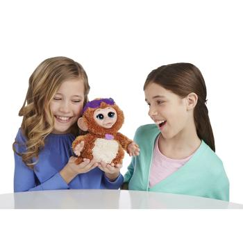 Furreal Friends Baby Cuddles My Giggly Monkey Pet Plush New Free