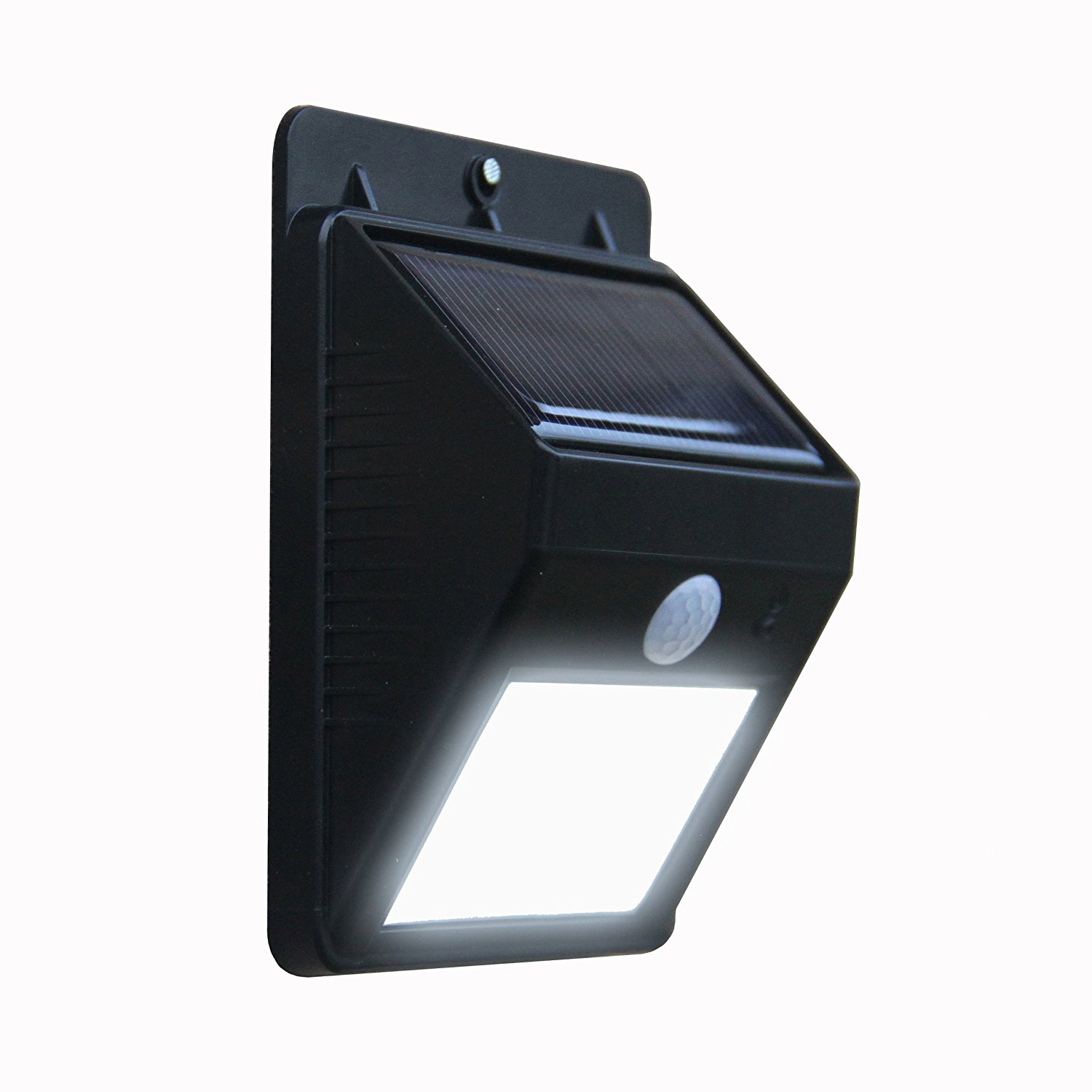 Outdoor LED Wireless Solar Powered Motion Sensor Light Security ...
