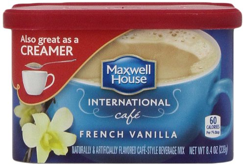 Maxwell House International Coffee French Vanilla Cafe, 8.4-Ounce ...