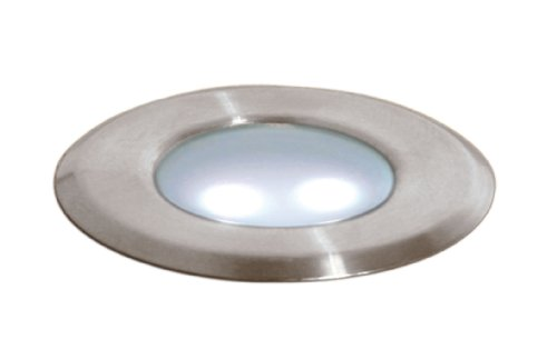 paradise gl28100bs6 low voltage metal deck light brushed stainless