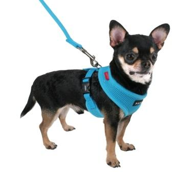 261623696364_2 puppia soft dog harness, red, small , new, free shipping