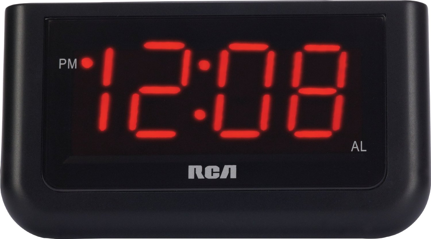 Rca Rcd30 High Quality Alarm Clock With 1 4 Inch Red Led