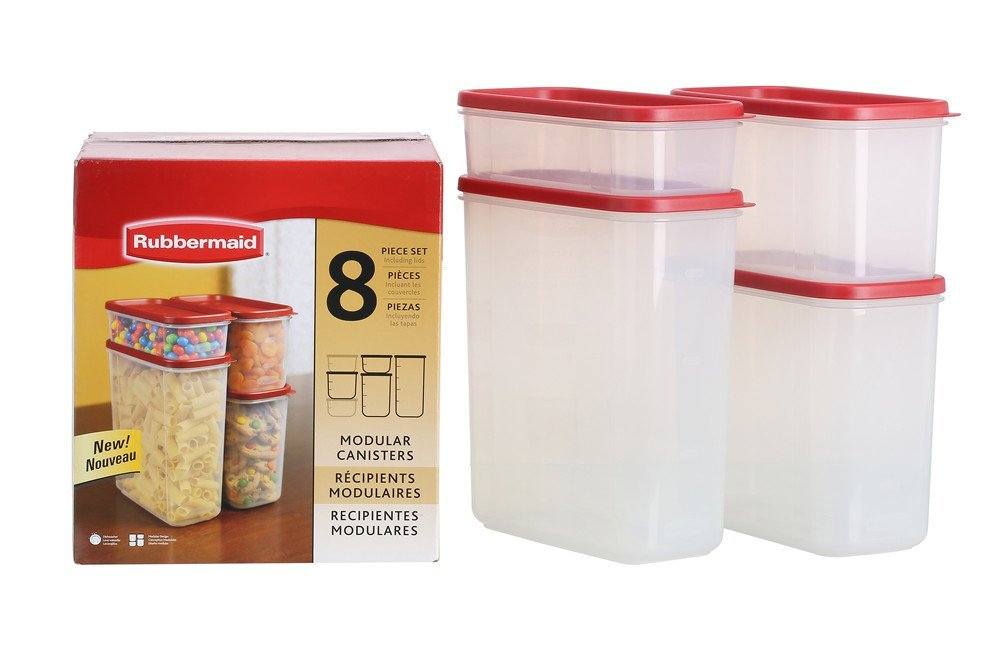 Product Description. Rubbermaid Dry Food Storage Container ...