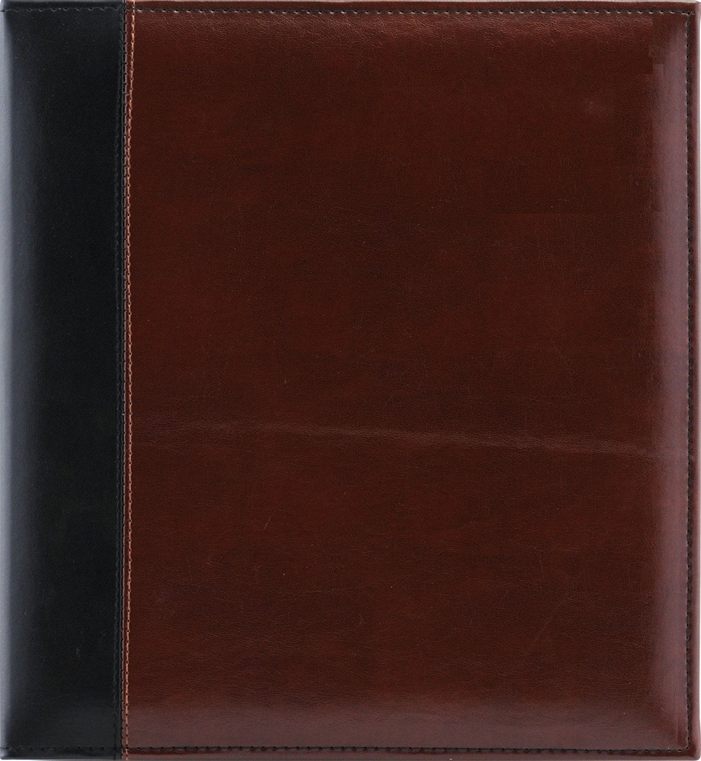 Pinnacle Magnetic Paged Faux Leather Ring Bound Photo Album 8x10