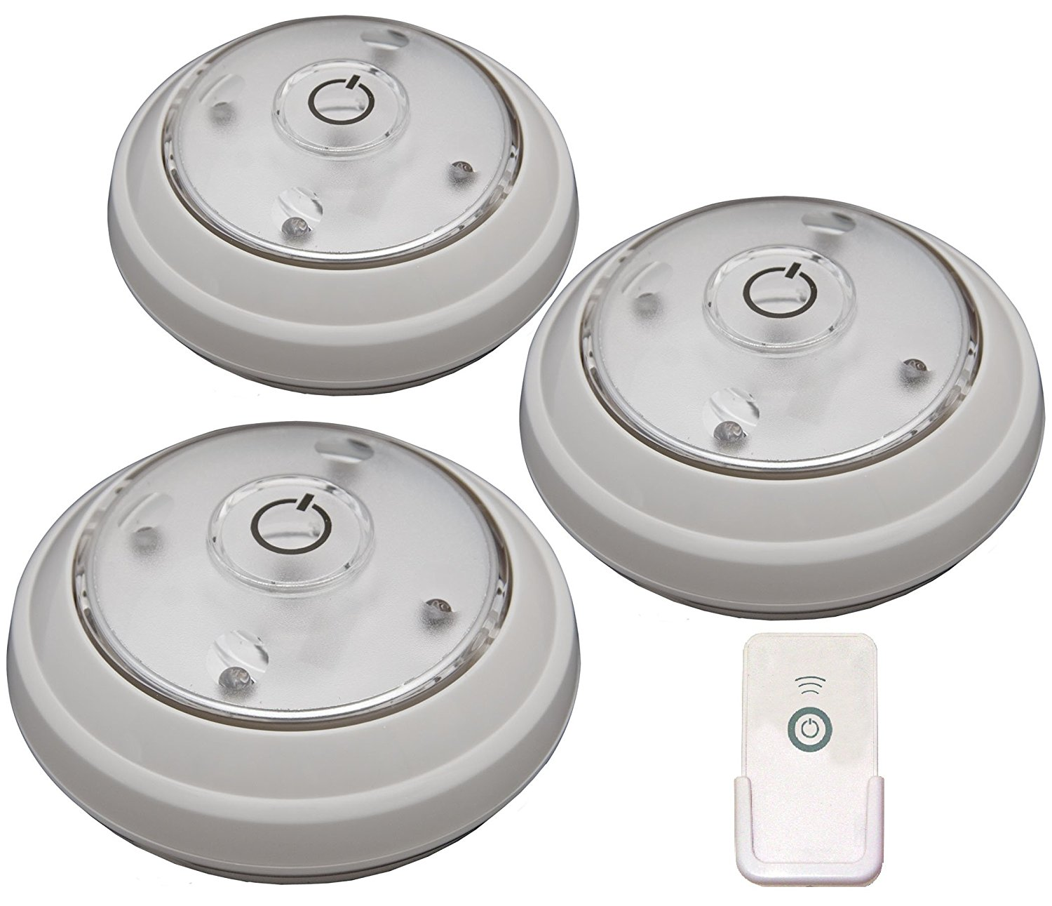 Details About Rite Lite Lpl623wrc 5 Led Puck Light With Remote 3 Pack New Free Shipping