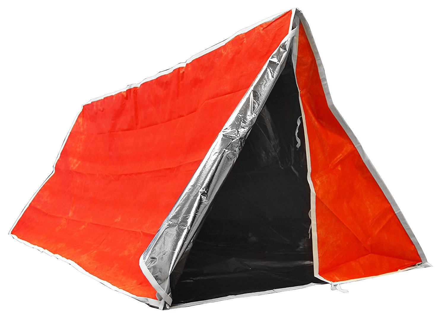 main image  sc 1 st  eBay & Outdoor Tube Tent-Aluminum Coated Interior Insulates Body Heat for ...