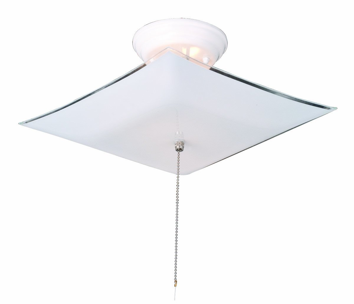 Design House 517805 2 Light Ceiling Mount Light Fixture with Pull ...