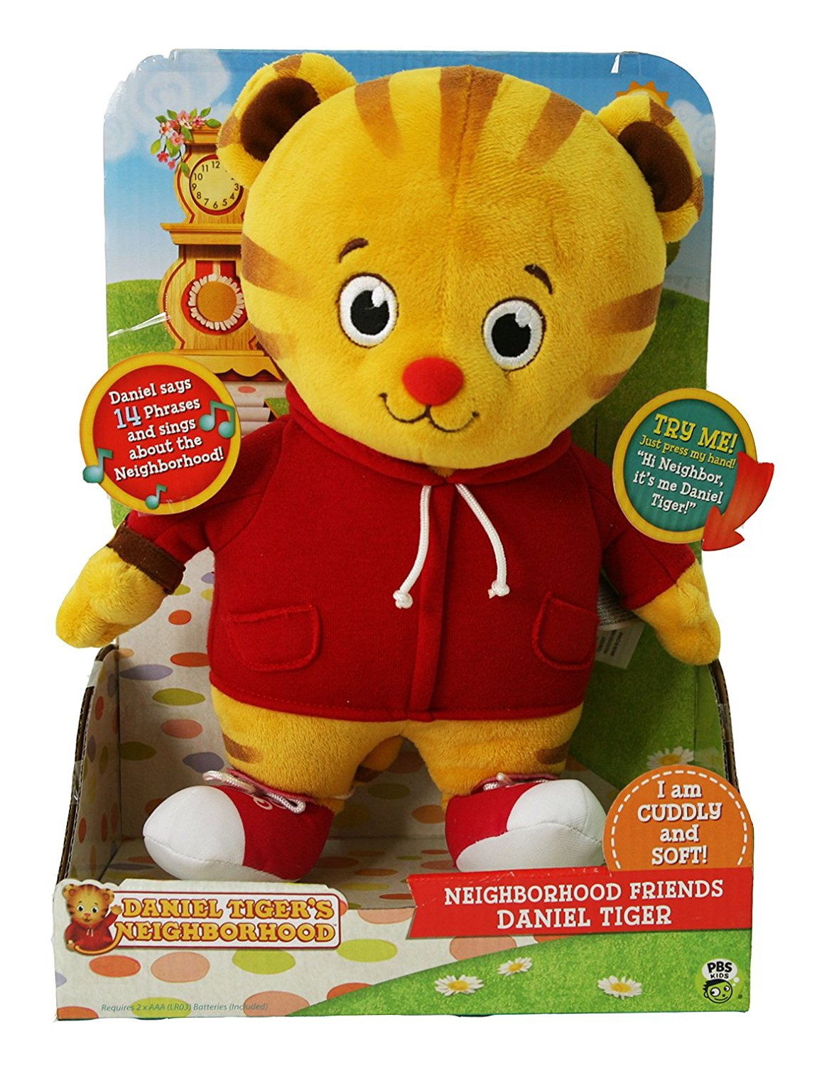 Daniel Tiger`s Neighborhood Friend Daniel Tiger Plush , New, Free ...