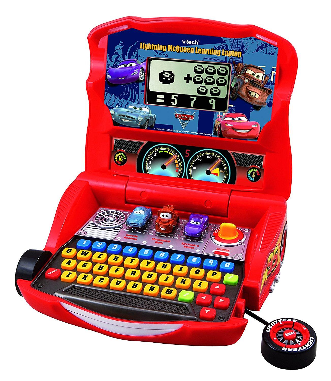 Main Image  sc 1 st  eBay & VTech - Disney`s Cars - Lightning McQueen Learning Laptop  New ...