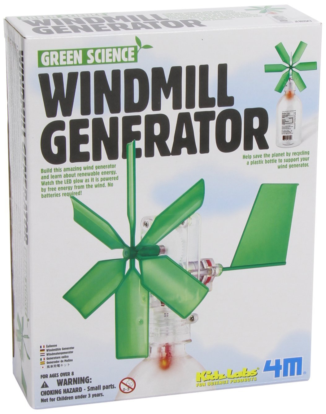 Green Science Windmill Generator by Toysmith , New, Free Shipping ...