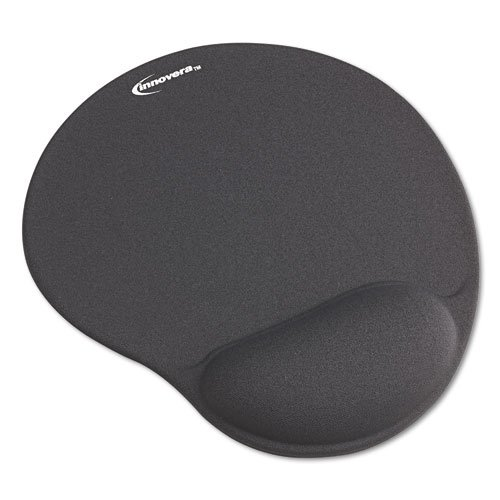 innovera mouse pad with gel wrist pad gray 50449 new free