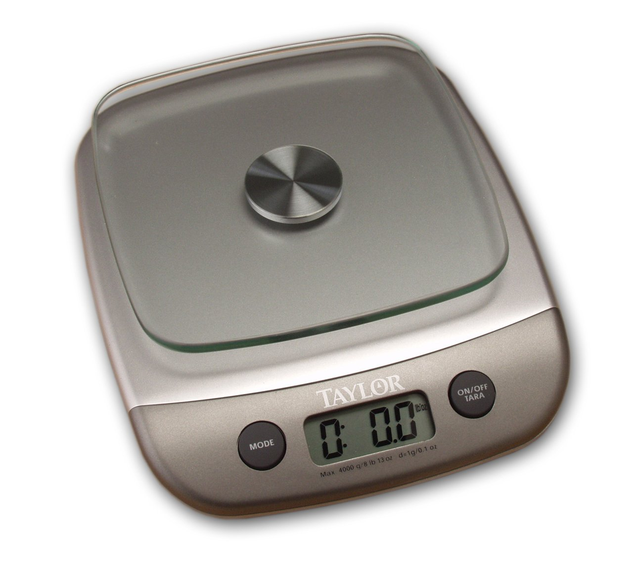 Details about Taylor Kitchen Scale - Silver (8 lb.) , New, Free Shipping