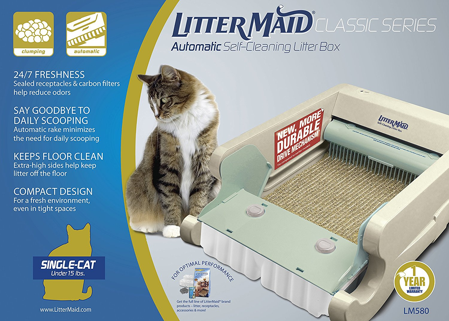 Littermaid Lm680c Automatic Self Cleaning Classic Litter Box Lm680c