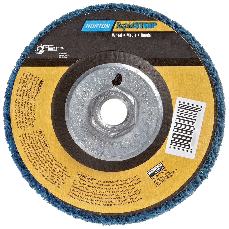 Aluminum 5//8 in Arbor 4 1//2 in Dia 1//8 in Thick 16 Pack Depressed Center Wheel