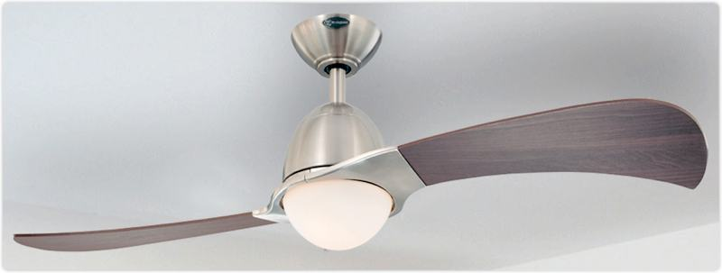 westinghouse 7216100 solana two light 48 inch two blade indoor rh ebay com Westinghouse Ceiling Fans Brand 2 Blade Ceiling Fan