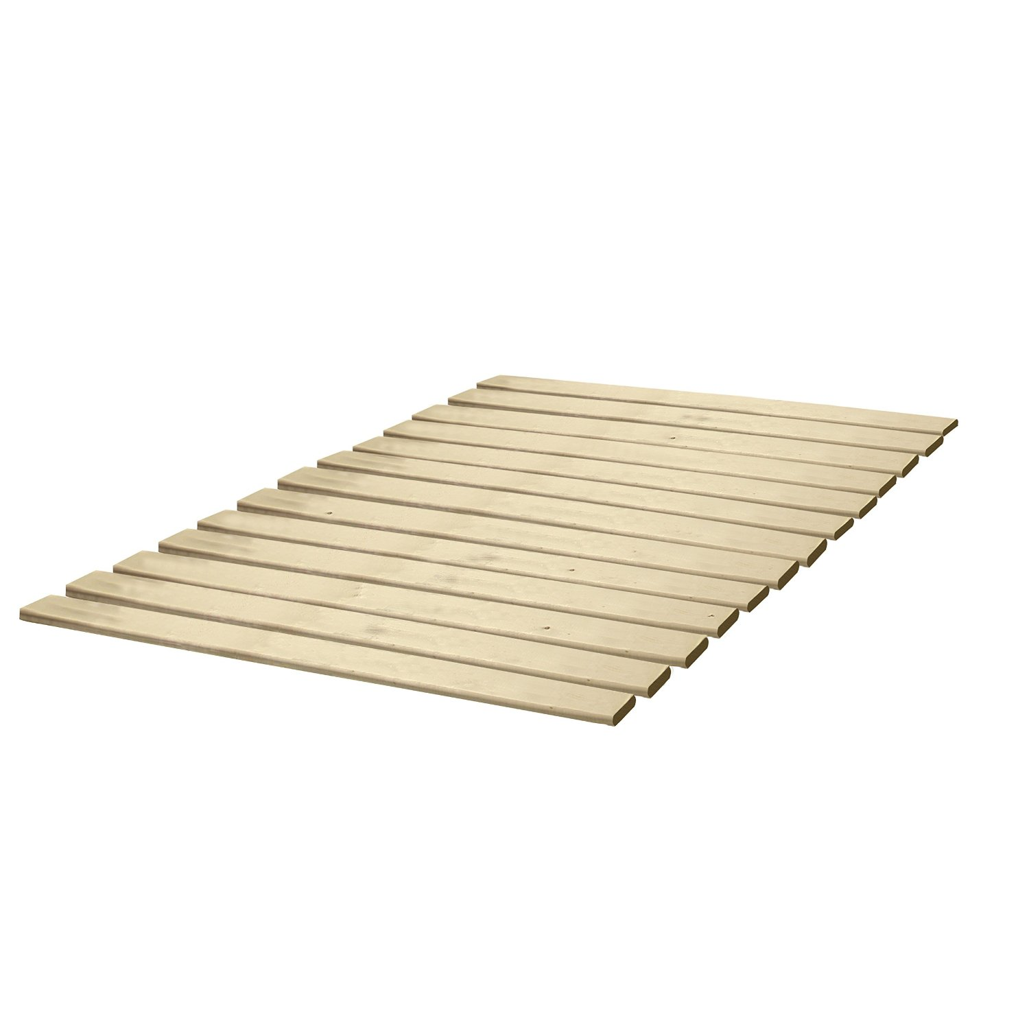 Classic Brands Wooden Bed Slats/Bunkie Board Solid Wood, Full Size