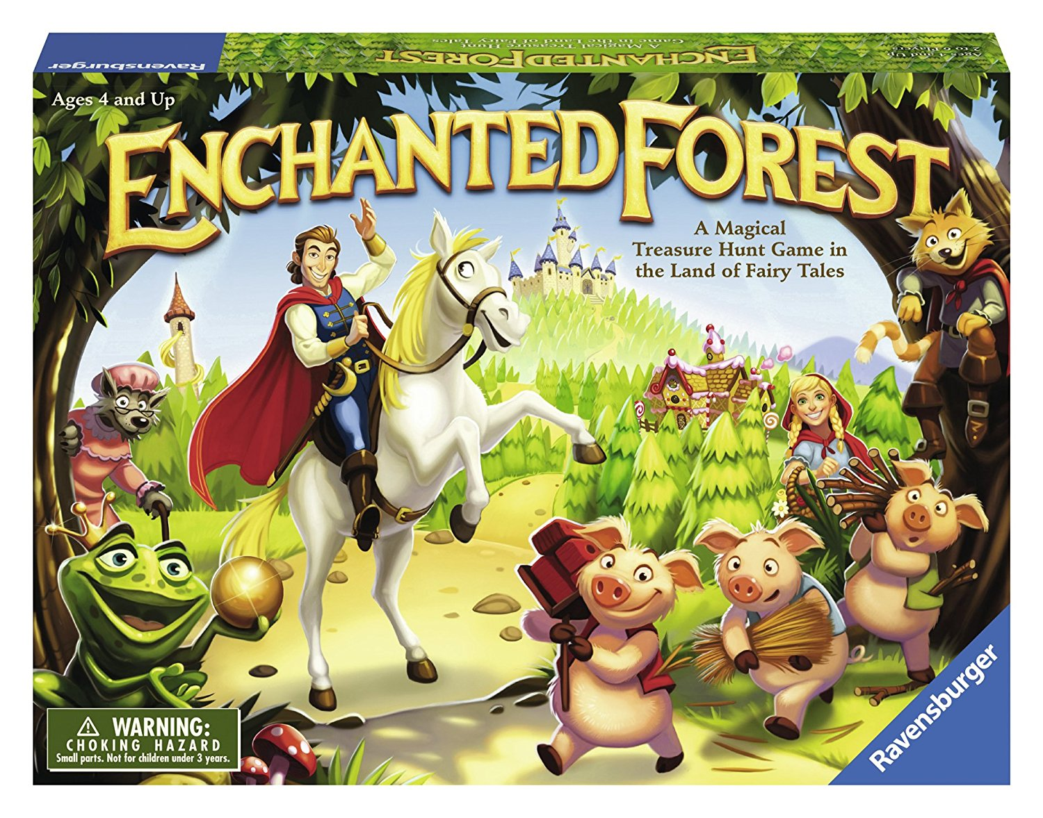 enchanted forest children s game new free shipping 783327715634