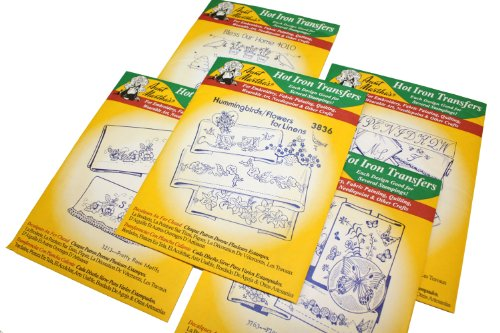Aunt Marthas Iron On Transfer Patterns For Stitching Embroidery Or