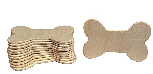 creative hobbiesunfinished wood dog bone cutouts ready to paint